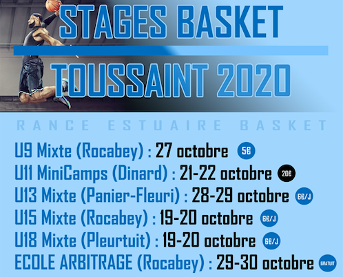 Stages REB Toussaint